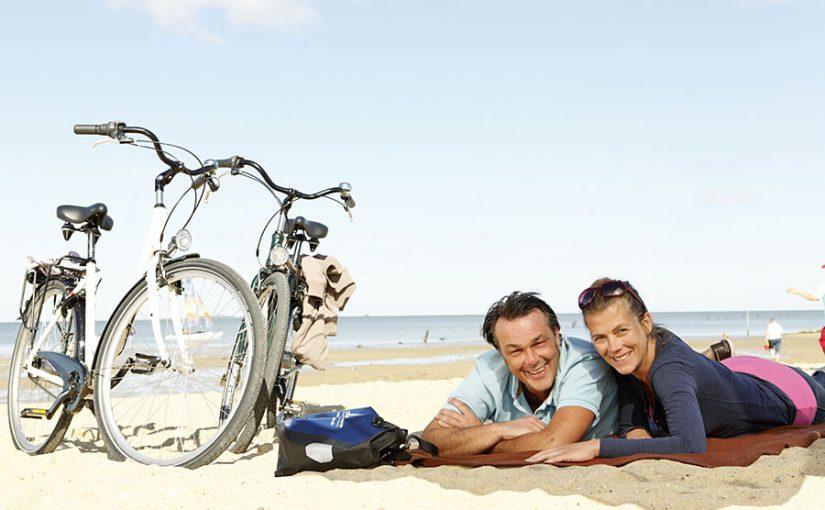 Immer an der Ostsee entlang: Radeln mit Küstenblick