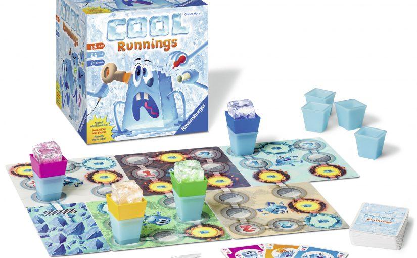 Cool Runnings – das Spiel mit echten Eiswürfeln!